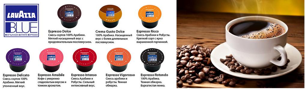 фото готового кофе в капсулах lavazza