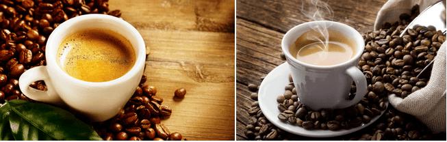 фото готового кофе кафитали